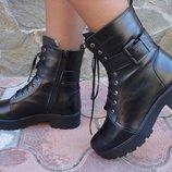 Ботинки женские зимние. S-13. натуральная кожа.