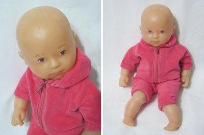 Кукла Мальчик-Азиат, 27 см, тяжелый, Corolle, Франция, 1991. Качество