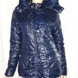 Куртка теплая стильная размер м