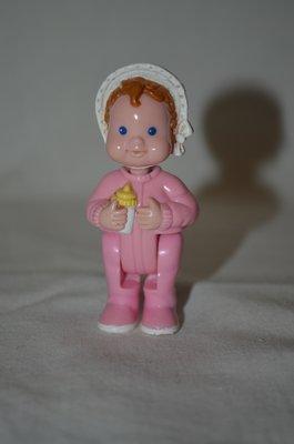 Маленькая фирменная куколка пупсик малыш маленькая Mattel Fisher Price 1994 год