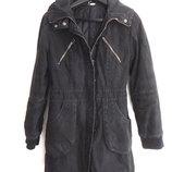 Пальто с капюшоном бренд divided by h & m