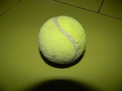 мяч тенисный б/у