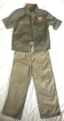 Брюки джинсы светлые вельветовые р.116 мальчику на 5-6 лет