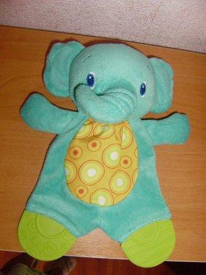 Плюшевая игрушка-прорезыватель