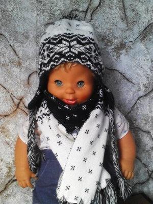 Комплект шапочка с шарфиком Wojcik