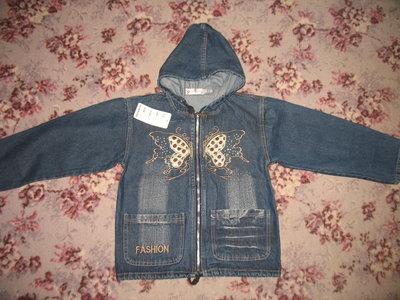 Курточка джинсовая - новая