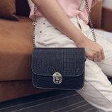 Fashion сумка клатч сундучок под крокодил В Наличии Мода 2016