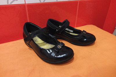 Туфли школьные д/дев. р.29,5 11 Е Clarks, Камбожия, натур.кожа