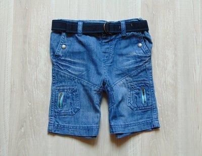 Стильные джинсовые шорты для мальчика. Cherokee. Размер 2-3 года. Состояние новой вещи, не ношенные