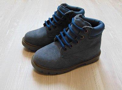 Шикарные демисезонные ботинки для мальчика. Приятный цвет. Размер 28