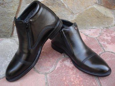 Ботинки мужские, зимние. А-14. натуральная кожа и цигейка