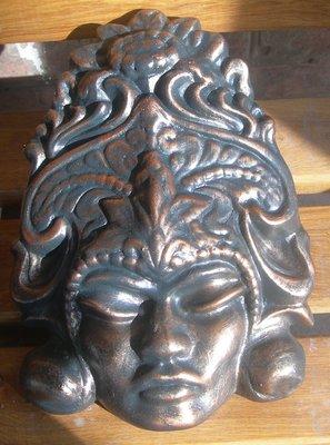 Барельеф на стену голова Горгона