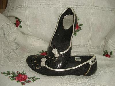 Туфли черного цвета hell -kitty р.37,180грн.