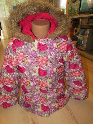 яркая деми куртка storm на девочку 6лет