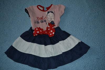 Красивое платье на 1-2