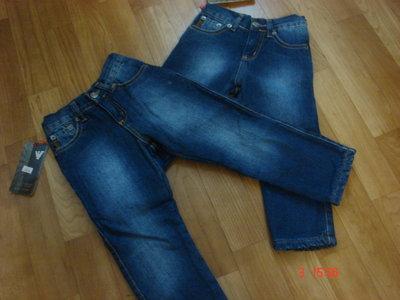 Брендовые джинсы на флисе 92,98