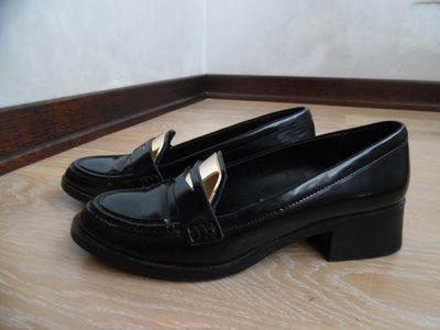 Туфли женские 19 см, кожа Zara Woman