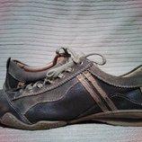 Эффектные фирменные комбинированные кожаные кроссовки Australian. 47 р