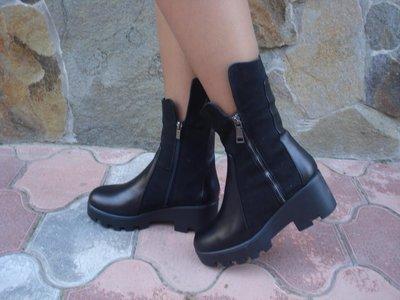Продано: Ботинки женские зимние. S-53. натуральная кожа.