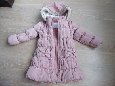 Курточка зимняя девочке 3-4 года, Matalan Маталан