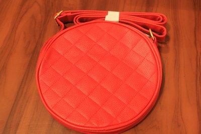 Ярко-Красная стеганая сумочка для лета