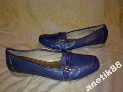 Туфли мокасины BATA 100%нат.кожа Италия оригин.39р