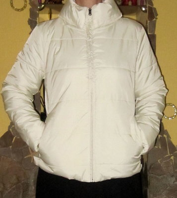 Утепленная куртка итальянского бренда Robe di Kappa,раз L на теплой флисовой подкладке
