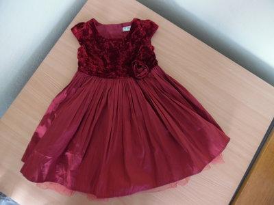 Платье девочке 12-18 мес. рост 86 см, Next Некст
