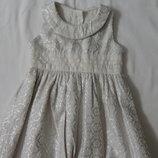 платье 62см M&S