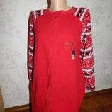 слип флисовый, пижама, человечек со стопой р8-10