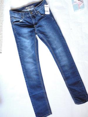 Теплые джинсы стрейч рост 146см