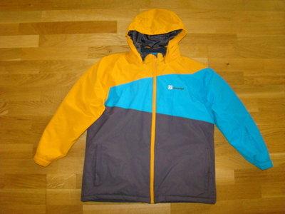 Яркая ветронепродуваемая водоотталкивающая куртка The edge на 13-14 лет