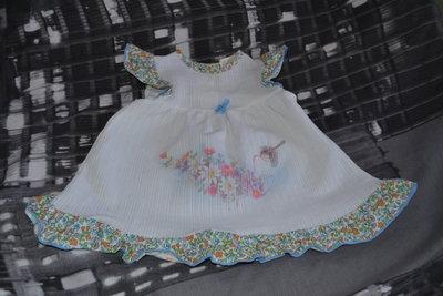 Платье на девочку или куклу.одежда кукла