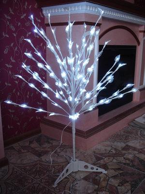 Шикарное большое Светящееся дерево с мерцанием огоньков свет светильник дом декор Новый год интерьер
