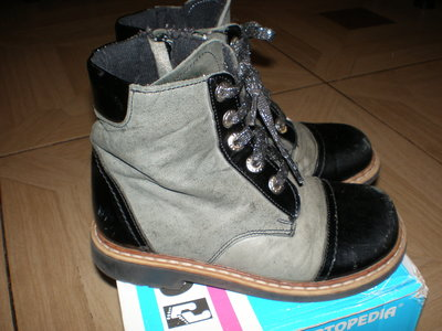 Демисезонные ботинки Оrtopedia р.27,17.5 см
