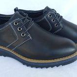 Туфли черные на мальчика на шнурках, Fashion, С6628, Тм Paliament , размеры 31, 32, 33, 34, 35, 36