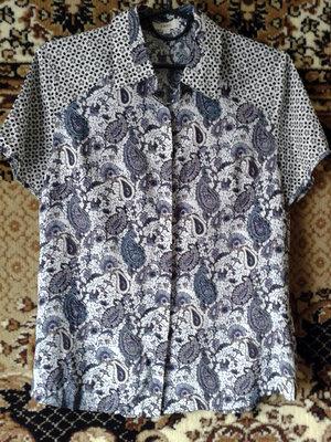 Оригинальная блузка. принт.