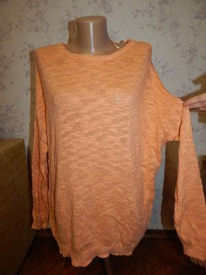 свитер ширококройный стильный модный рL