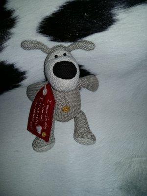 шикарная мягкая игрушка Собака Буфи Boofle Англия оригинал 14 см