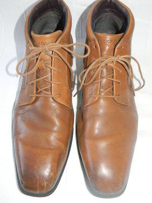 Мужские кожаные ботинки Rockport р.44 дл.ст 29см