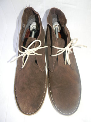 Мужские замшевые ботинки asos р.10 дл.ст 29см