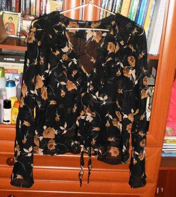 Шифоновый кардиган-блузка