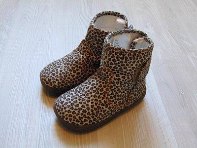 Шикарные демисезонные сапожки в леопардовый принт для принцессы. H&M. Размер 23 6.5 .