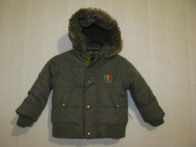 Демисезонная куртка 9-18 мес