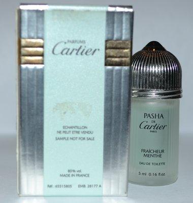 Pasha de Cartier Fraicheur Menthe Cartier для мужчин туалетная вода 5 мл оригинал редкость