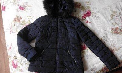 Куртка деми- теплая зима Kiabi. Размер S-M. Отличное состояние.