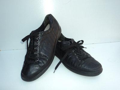 Кожаные кеды-макасины-туфли