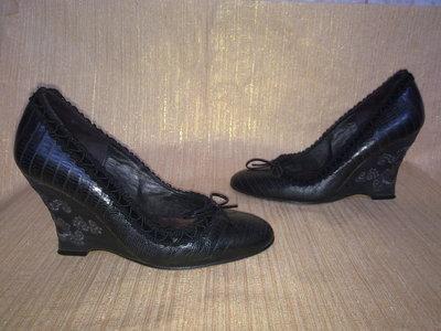 Туфли REBECA SANVER 100% натуральная кожа Испания 35р