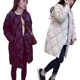 куртка женская теплая Хит пуховик термо зимняя шуба пальто
