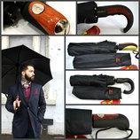 Качественный добротный мужской зонт Антиветер, 10 спиц карбон